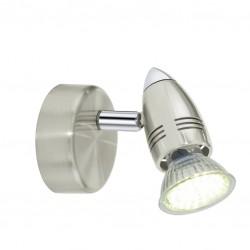 Spot LED - Acier nickelé - 7 cm - Magnum - EGLO - Pour l'intérieur - BR-230505