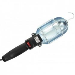 Baladeuse à crochet et pince - Panier métal - 60 W - DHOME - Baladeuses - BR-244192