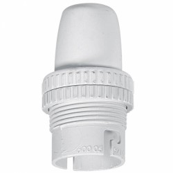 Douille B22 - Avec bague - Isolant blanc - 150 W - LEGRAND - Douille pour ampoule B22 - BR-238473