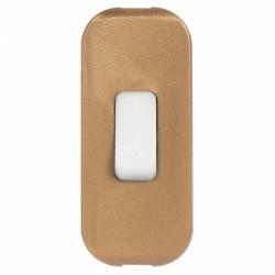 Interrupteur à bascule pour lampe - Lumineux - bipolaire - Vieil or - LEGRAND - Interrupteurs luminaires - BR-826057