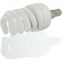 Ampoule Fluocompacte - Spirale - E14 - 15 W - 799 lumens - DHOME - Ampoules fluocompactes - BR-244150