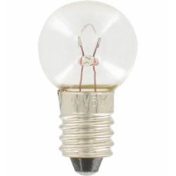 Ampoule culot E10 - 6 V - 0,9 A - 5.5 W - Lot de 10 - LEGRAND - Ampoules pour torches et lampes de poche - 614007