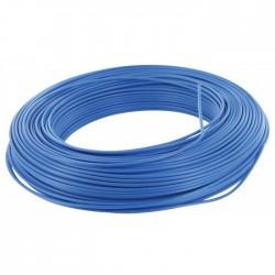Câble d'installation H07V-U 2.5 mm² - 100 M - Bleu - ELECTRALINE - Fils et câbles électriques - BR-373133