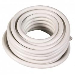 Couronne de 50 M - Blanc - HO5 VV-F 3 G 1,5 mm² - ELECTRALINE - Fils et câbles électriques - BR-370122