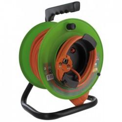 Enrouleur de jardin - 25 M - H05 VV-F 3G 1,5 mm² - DHOME - Enrouleurs - BR-243049