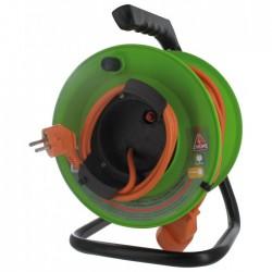 Enrouleur de jardin - 40 M - H05 VV-F 2 x 1,5 mm² - DHOME - Enrouleurs - BR-244186