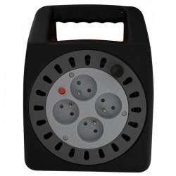 Enrouleur domestique - 15 M - H05 VV-F 3G 1,5 mm² - DHOME - Enrouleurs - BR-408341