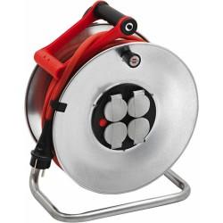 Enrouleur de câble Silver- IP44 - 25 M - H07RN-F 3G2,5 mm² - BRENNENSTUHL - Enrouleurs - BR-092116