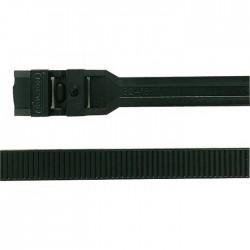 Collier Colson - 128 x 7.6 x 22 mm - Noir - Lot de 100 - LEGRAND - Fixations tubes et câbles électriques - BR-547123