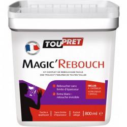 Enduit de rebouchage en pâte - Magic'Rebouch - 800 ml - TOUPRET - Enduit de rebouchage - BR-616105