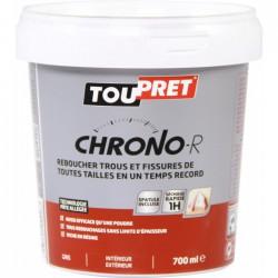 Enduit de rebouchage en pâte - Chrono-R - 700 ml - TOUPRET - Enduit de rebouchage - BR-565449