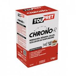 Enduit de rebouchage en poudre - Chrono-R - 1 Kg - TOUPRET - Enduit de rebouchage - BR-565448