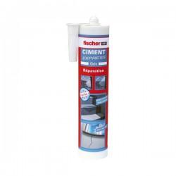 Ciment Express - Prêt à l'emploi - Gris - 310 ml - FISCHER - Ciment et Plâtre - BR-600460