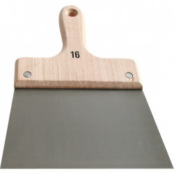 Couteau à enduire - Acier - Manche bois - 12 cm - OUTIBAT - Couteau à enduire / Couteau de peintre - BR-210241
