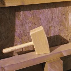 Maillet de menuisier en bois - 750 Grs - 41 mm - MOB - Maillet - BR-175749