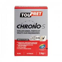 Enduit de scellement rapide e- Chrono - 1 Kg - TOUPRET - Enduit universel / Multi-usages - DE-486746