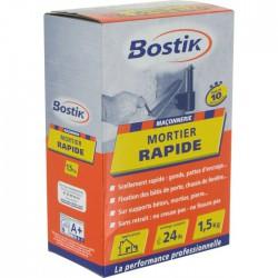 Mortier rapide - Prise 10 Min - 1.5 Kg - BOSTIK - Mortier - BR-700167