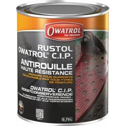Primaire anticorrosion haute résistance - Rustol CIP - 750 ml - OWATROL - Antirouille - BR-537527
