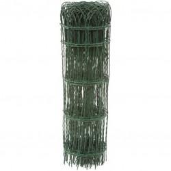 Bordure parisienne - Verte - 65 cm x 10 m - FILIAC - Bordure de jardin et grillage - BR-550385