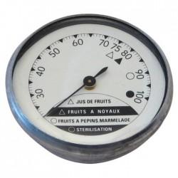 Thermomètre à aiguille pour stérilisateur - 0 à 100 °C - STIL - Thermomètre de cuisine - BR-100406