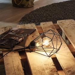 Lampe à poser - Métal noir - E27 - Tarbes - EGLO - Pour l'intérieur - BR-202494