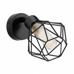 Spot en métal - 1 Led - Noir - ZAPATA - G9 - EGLO - Pour l'intérieur - BR-536775