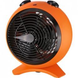Radiateur soufflant 2000 Watts - Sphère - Orange et noir - VARMA - Radiateurs soufflant - BR-244053