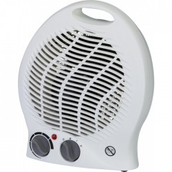 Radiateur soufflant 2000 Watts avec ventilation froide - Blanc - VARMA - Radiateurs soufflant - BR-244044