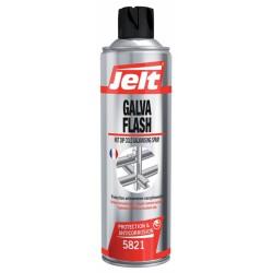 Retouche pour acier galvanisé - Galva Flash - 650 ml - JELT - Solvant / Graisse - SI-302281