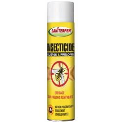 Insecticide Guêpes & Frelons - Longue portée - Action immédiate - 600 ml - SANITERPEN - Hygiène et entretien animaux - DE-422964