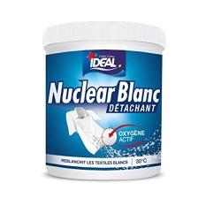 Blanchisseur / détachant - Oxygène actif - Nuclear Blanc - 450 Grs - IDEAL - Détachant pour textile - DE-737809