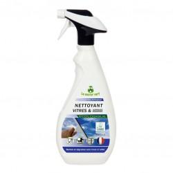 Nettoyant vitres et surfaces modernes - Menthe - 750 ml - Écologique - LE CASTOR VERT - Entretien des vitres - BR-312402
