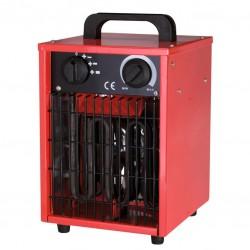 Radiateur de chantier - Soufflant - Portable - Rouge - 3000 Watts - VARMA - Radiateurs soufflant - BR-244187