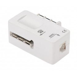 Filtre ADSL 2 + Prise téléphone - Femelle RJ11 - ERARD - Téléphonie - DE-605170