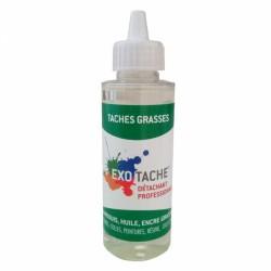 Détachant professionnel - Tâches Grasses - 108 ml - EXO TACHES - Détachant pour textile - B10053GR