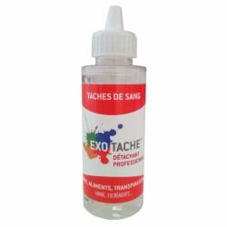 Détachant professionnel - Tâches de sang- 108 ml - EXO TACHES - Détachant pour textile - B10053S