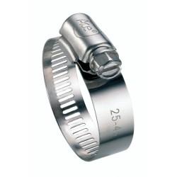 Collier de serrage à bande - Inox - Diamètre 32 - 52 mm - Largeur 13 mm - Vendu par 2 - CAP VERT - Colliers de serrage - BR-...