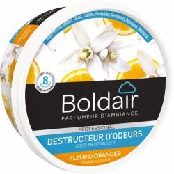 Destructeur d'odeur - Fleur d'oranger - Gel solide 300 gr - BOLDAIR - Désodorisant - BR-604459