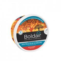 Destructeur d'odeur - Bois ambré- Gel solide 300 gr - BOLDAIR - Désodorisant - DE-795708