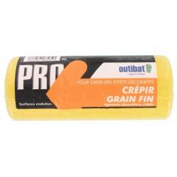Manchon pour rouleau de peinture - Spécial crépi grain fin - 180 mm - OUTIBAT - Manchons pour rouleau de peinture - BR-147288