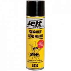 Foudroyant guêpes et frelons - Longue distance - 650 ml - JELT SECURITE - Insectes volants - SI-104601