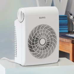 Radiateur soufflant portatif - 2500 Watts - SB 20 - Blanc - SUPRA - Radiateurs soufflant - BR-537478
