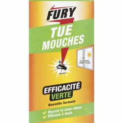 Adhésif anti-mouches - Tue mouches - 4 stickers - FURY - Insectes volants - BR-317500
