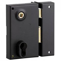 Serrure applique verticale - pour cylindre profilé - Droite - 125 x 73 mm - THIRARD - Serrures - BR-411168