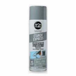 Spray d'étanchéité liquide - Gris - 500 ml - IT2C - Étanchéité / Isolation - PL227500