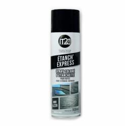 Spray d'étanchéité liquide - Noir - 500 ml - IT2C - Étanchéité / Isolation - PL226500