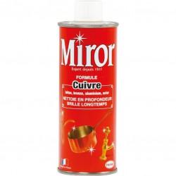 Nettoyant Cuivre, Laiton et Bronze - 250 ml - MIROR - Entretien des métaux - 170461