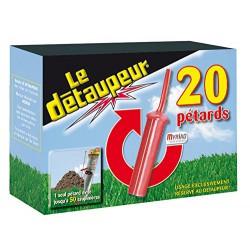 Recharge de 20 pétards - Le Détaupeur - MYRIAD - Taupes - 9509002