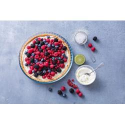 Bake & Enjoy - Moule à tarte rond en verre ⌀31 cm - PYREX - Moules - 477030L