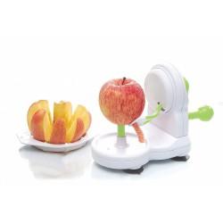 Éplucheur et coupe pomme - 2 en 1 - UTIL HOME - Couper / Éplucher fruits et légumes - BR-306168